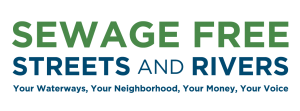 Sewage Free Streets and Rivers logo